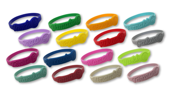 Picture of IDOLiSH7 x Animate Cafe Goods Rubber Wristbands INDIVIDUALS