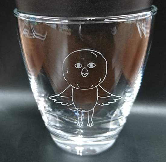 Picture of Free! Eternal Summer Animate Limited Edition Goods Iwatobi-chan Standing Glass Cup