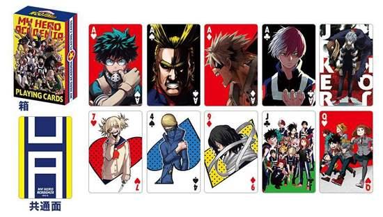 Picture of Boku No Hero Academia Jump Festa 2019 Original Goods Deck of Cards
