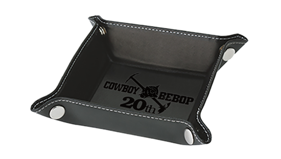 Picture of Cowboy Bebop Session 2 Animate Cafe Goods Leather Tray