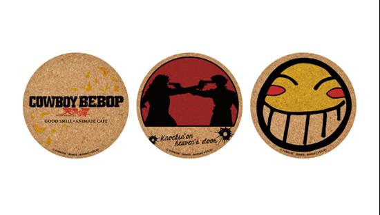 Picture of Cowboy Bebop Session 2 Animate Cafe Goods Cork Coaster Set
