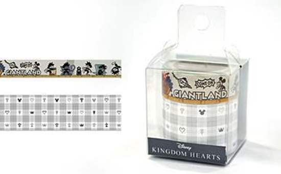 Picture of Kingdom Hearts Tokyo Skytree Tower of Radiance and Shadow Goods Washi Tape