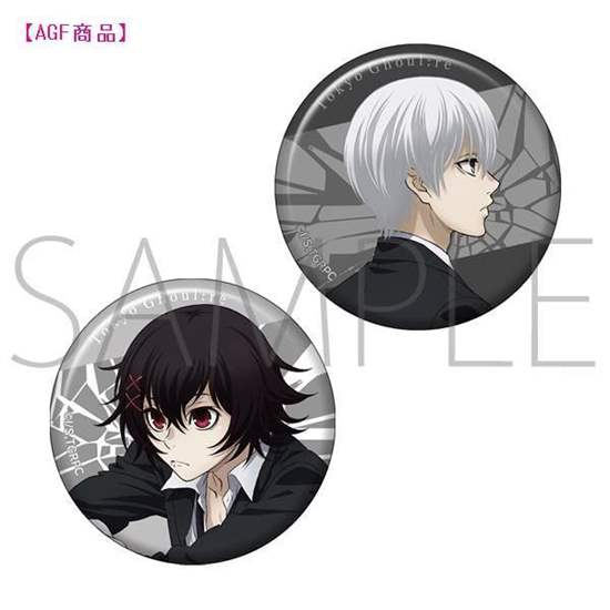 Picture of Tokyo Ghoul:re Shonen Jump Movic Can Badge Set Vol. 2