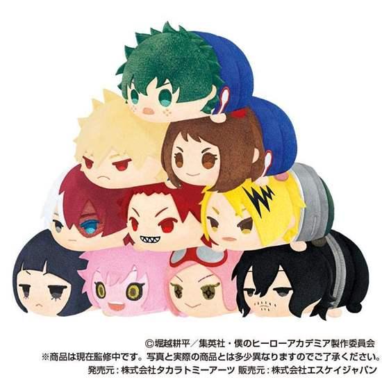 Picture of Boku No Hero Academia Mochi Mochi Tsum Mascot Vol. 2 INDIVIDUALS