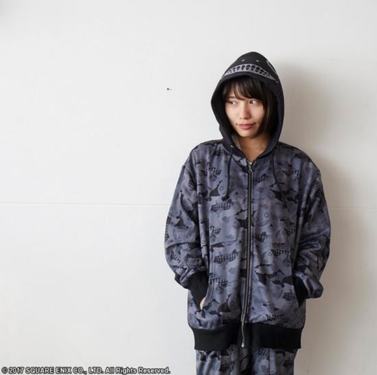 Picture of NieR Automata Square Enix Exclusive Apparel Parka Jacket Emil Black