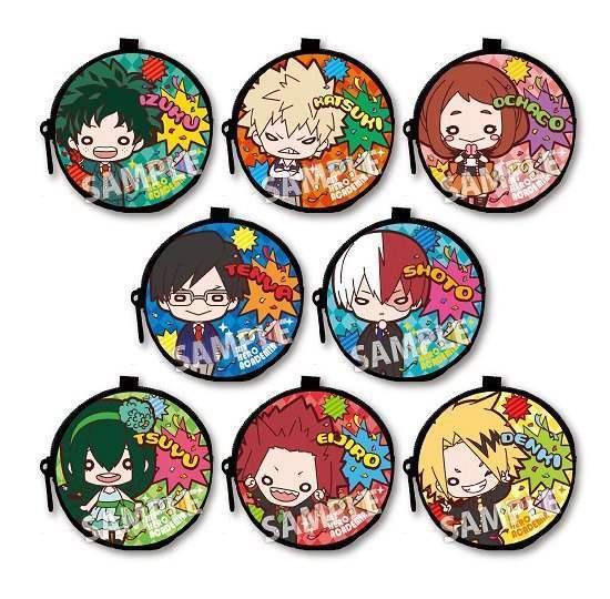 Picture of Boku No Hero Academia Nitotan Trading Small Pouches Party Version SET
