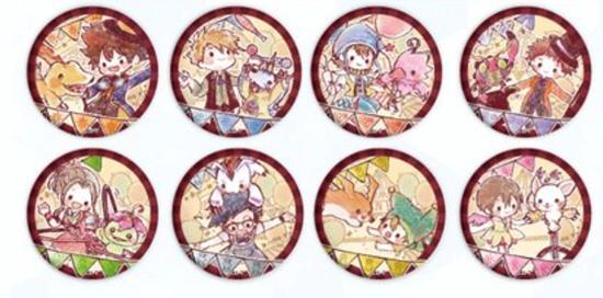 Picture of Digimon Adventure Tri 20th Anniversary Graffart Goods Can Badges SET