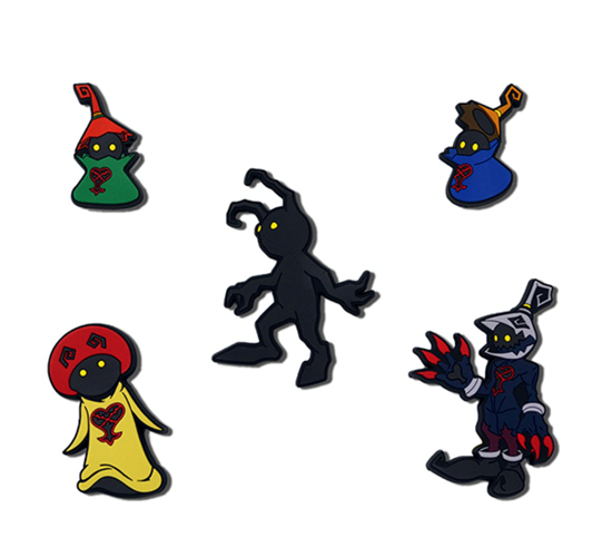 Picture of Kingdom Hearts Square Enix Heartless Design Rubber Magnets