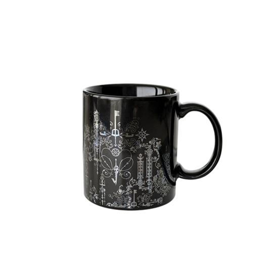 Picture of Kingdom Hearts 3 Square Enix Keyblade Symbols Silver Mug