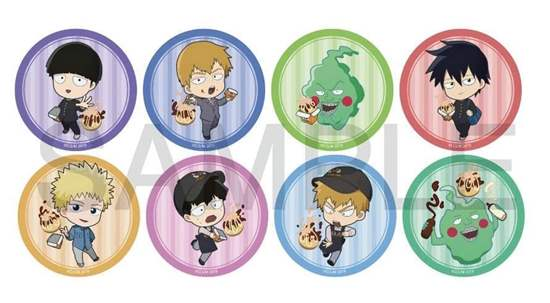 Picture of Mob Psycho 100 II Bakudan Collaboration Goods Can Badge BLIND PACKS