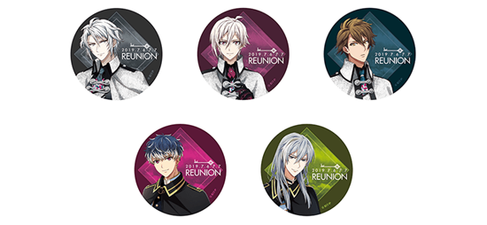 Picture of IDOLiSH7 2nd LIVE REUNION Concert Goods Can Badge Set TRIGGER & Re:vale
