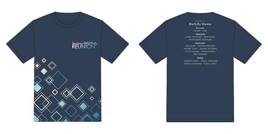 Picture of IDOLiSH7 2nd LIVE REUNION Concert Goods Live Logo T-Shirt Dark