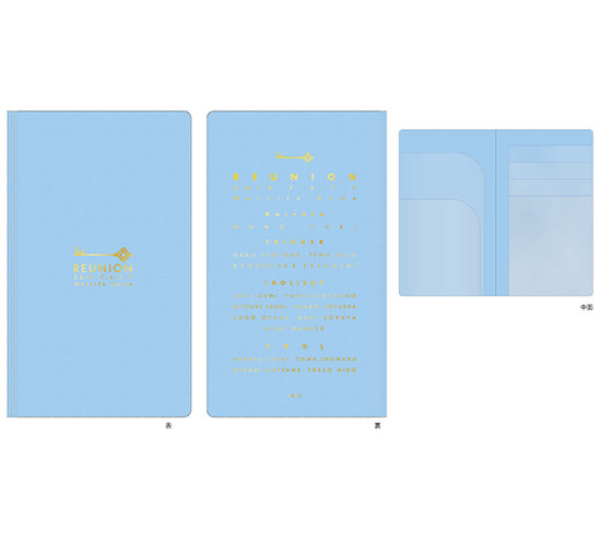 Picture of IDOLiSH7 2nd LIVE REUNION Concert Goods Ticket Holder