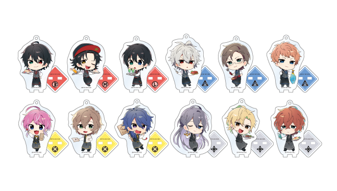 Hypnosis Mic Division Rap Battle Animate Cafe Goods Acrylic Stand Keychains  BLIND PACKS