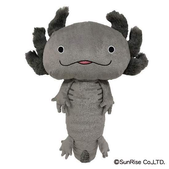 Picture of Hola!! Salamanders Sunrise Shop Grey Plush