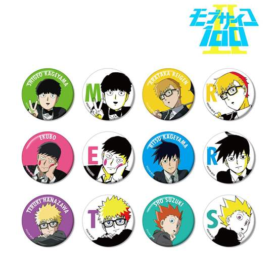 Picture of Mob Psycho 100 II Armabianca Can Badge Vol. 2 BLIND PACKS