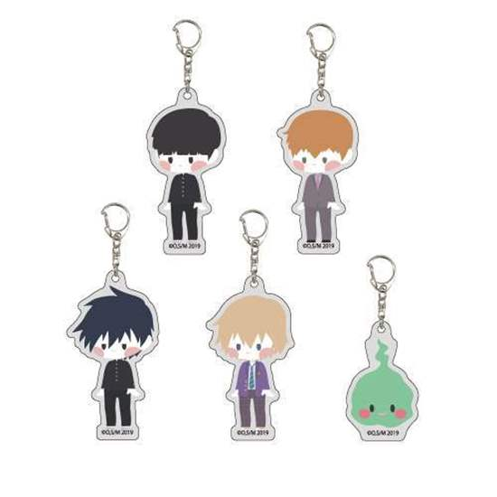 Picture of Mob Psycho 100 II A3 Company Acrylic Keychains BLIND PACKS