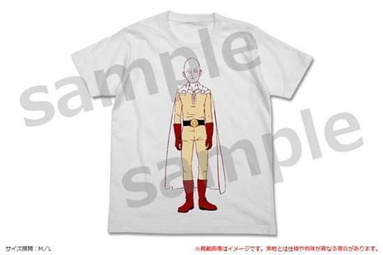 Picture of One Punch Man Season 2 Hybrid Mind Market Store Goods Saitama T-Shirt
