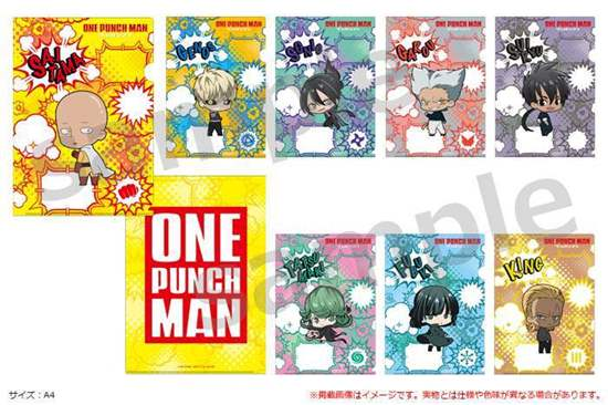 Picture of One Punch Man Season 2 Hybrid Mind Market Store Goods Clear File