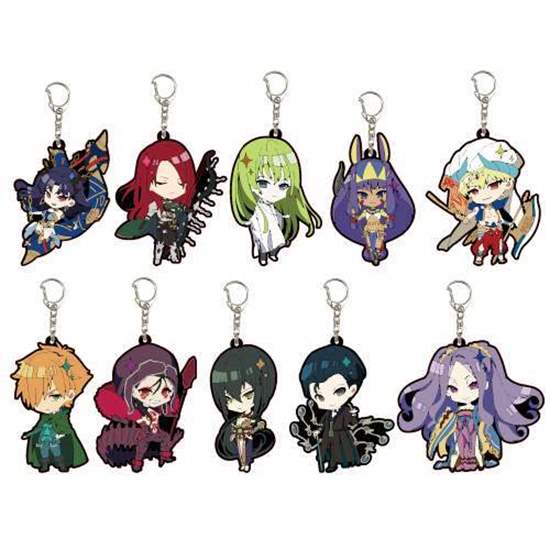 Picture of Fate/Grand Order A3 Company Rubber Strap 06 SD BLIND PACKS