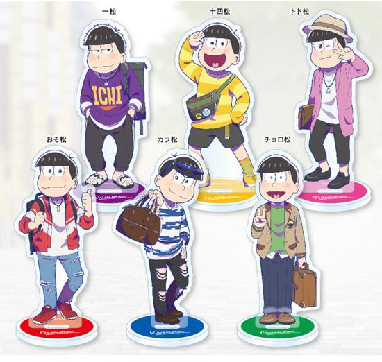 Picture of Osomatsu-san The Movie HNA Associates Acrylic Stand Snapshot Series