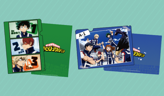 Picture of Boku No Hero Academia MediaLink Clear File