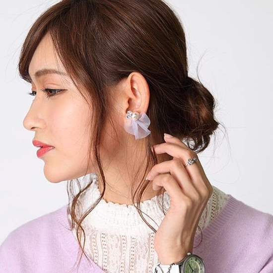 Picture of Pandora Hearts Super Groupies Earrings Xerxes Break Piercing Ver.