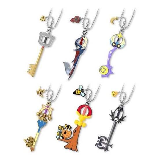 Picture of Kingdom Hearts Bandai Gacha Capsule Keyblade Vol. 2 Keychain BLIND PACKS
