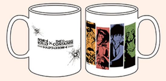 Picture of Cowboy Bebop x The Container Akihabara Store Goods Mug