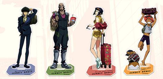 Picture of Cowboy Bebop x The Container Akihabara Store Goods Acrylic Stands
