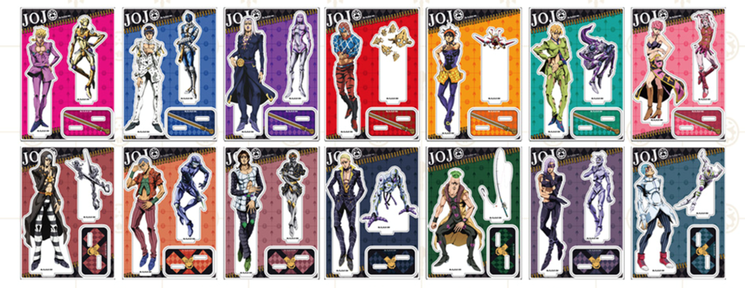 JoJo's Bizarre Adventure Golden Wind Cafe in Sweets Paradise Acrylic Stand