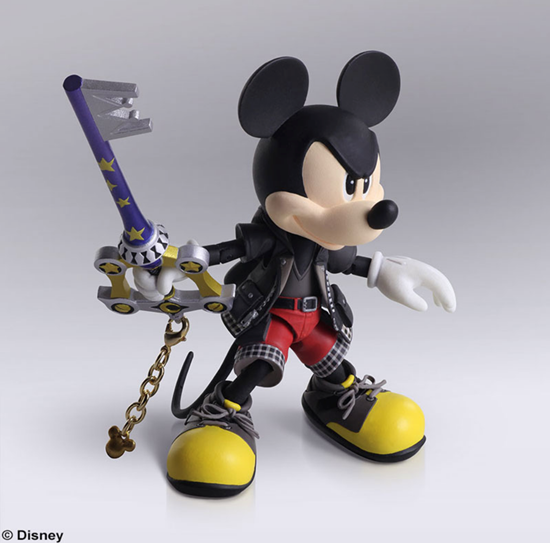 Picture of Kingdom Hearts 3 Bring Arts King Mickey Figurine