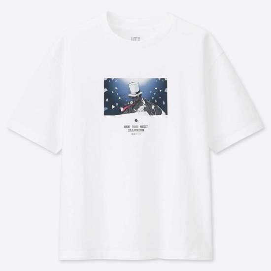 Picture of MANGA UT Uniqlo T-Shirt Detective Conan See You Next Illusion Design