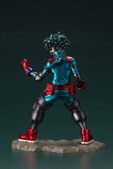 Picture of Boku No Hero Academia ARTFX-J Midoriya Izuku Deku Figurine HERO FES Version