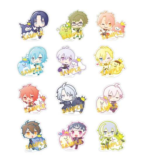 Picture of IDOLiSH7 x Sanrio Flavor Collaboration Goods Large Stickers