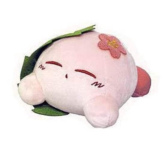 Picture of Kirby Sanei Fuwafuwa Collection Small Plush Sakura Mochi SECOND RESERVATION