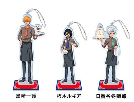 Picture of Shonen Jump x Pierrot 40th Anniversary Special Sega Cafe Goods Large Acrylic Stands BLEACH