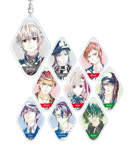 Picture of K Seven Stories Trading Ani-Art Acrylic Keychain SET