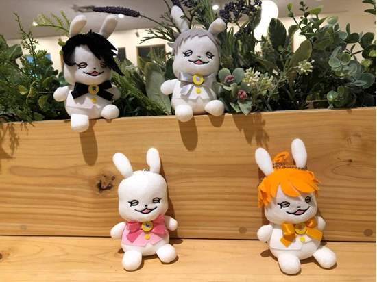 Picture of The Promised Neverland Jump Shop Exclusive Little Bunny Plush Keychain