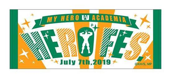 Picture of Boku No Hero Academia Hero Fes 2019 Event Towel