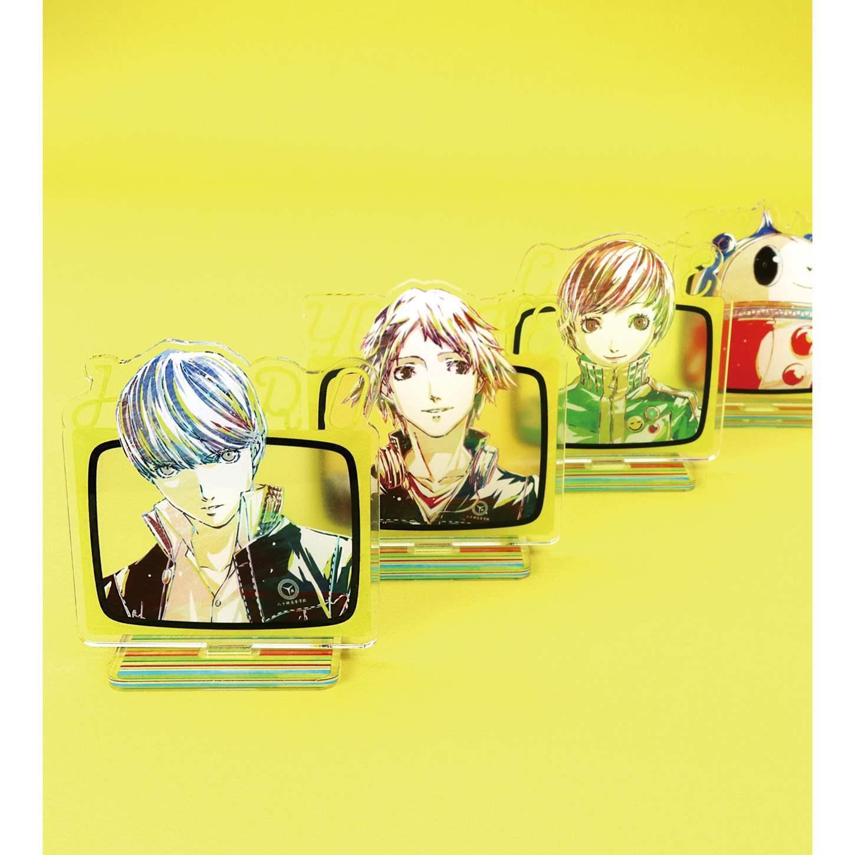 Persona 4 Trading Ani-Art Acrylic Stand SET