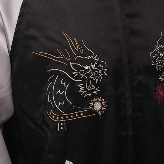 Picture of Yakuza Game Super Groupies Collaboration Kazuma Kiryu  Bomber Jacket