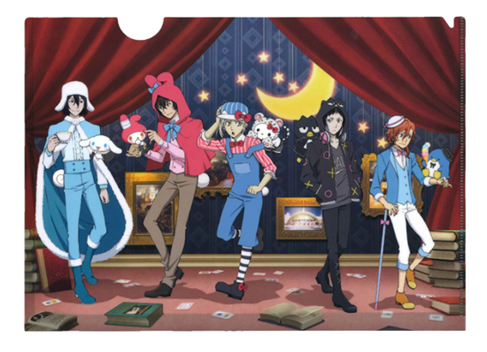 Picture of Bungou Stray Dogs x Sanrio Characters Collaboration Goods Clear File Normal Version