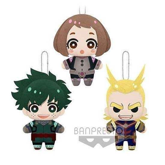 "Picture of Boku No Hero Academia Banpresto ""Tomonui"" Plush Keychains NIGHT TRAINING Vol. 1"