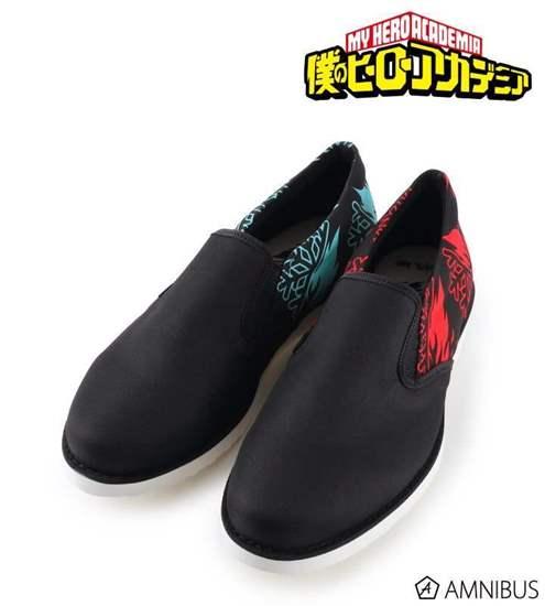 Picture of Boku No Hero Academia Armabianca Slip On Shoes Todoroki