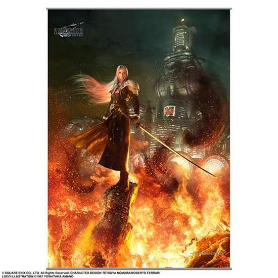Picture of Final Fantasy VII Remake Tapestry Wall Scroll Vol. 2 Sephiroth