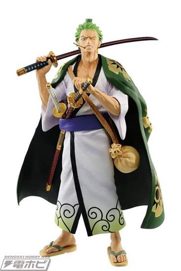 Picture of Ichiban Kuji ONE PIECE The Wano Swordsmen Zoro Figurine INDIVIDUAL