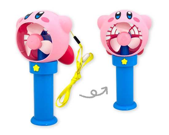 Picture of Kirby Pupupu Summer Vacation Handheld Fan