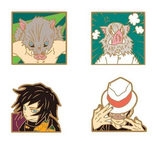 Picture of Kimetsu No Yaiba Jump Shop Exclusive Pin Badge Vol. 2