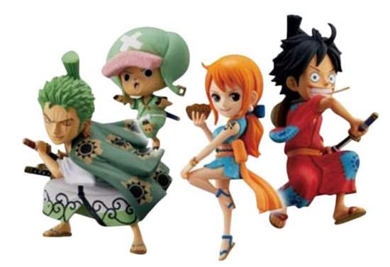 Picture of Weekly Shonen Jump Special Figurines World Collectible Figurine ONE PIECE Wano Country